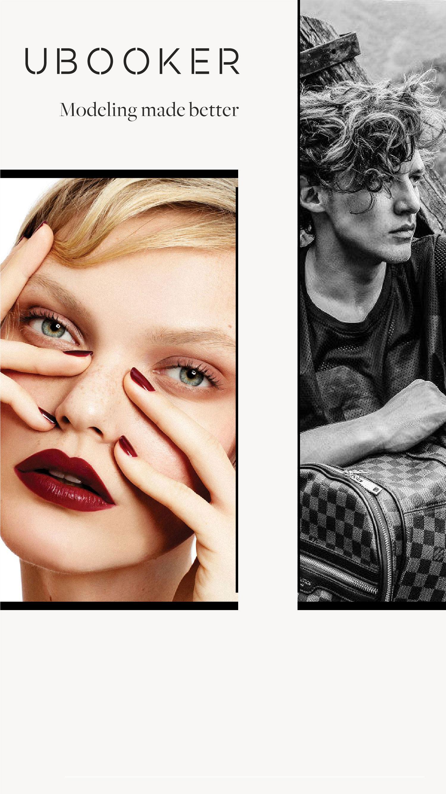 Models | Book Modeling Jobs Online | UBOOKER